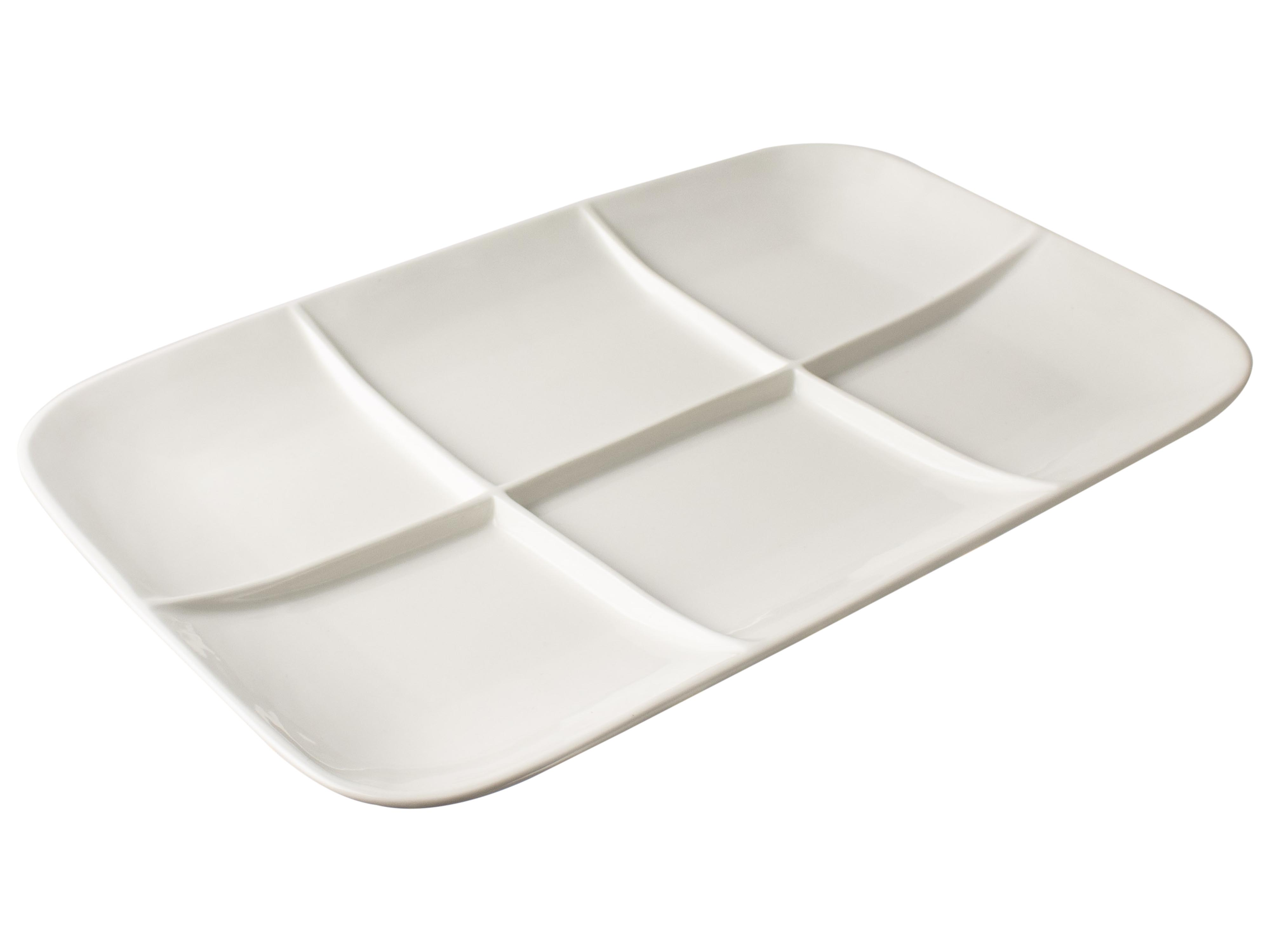 6 Compartment Plates Sparkle Gift
