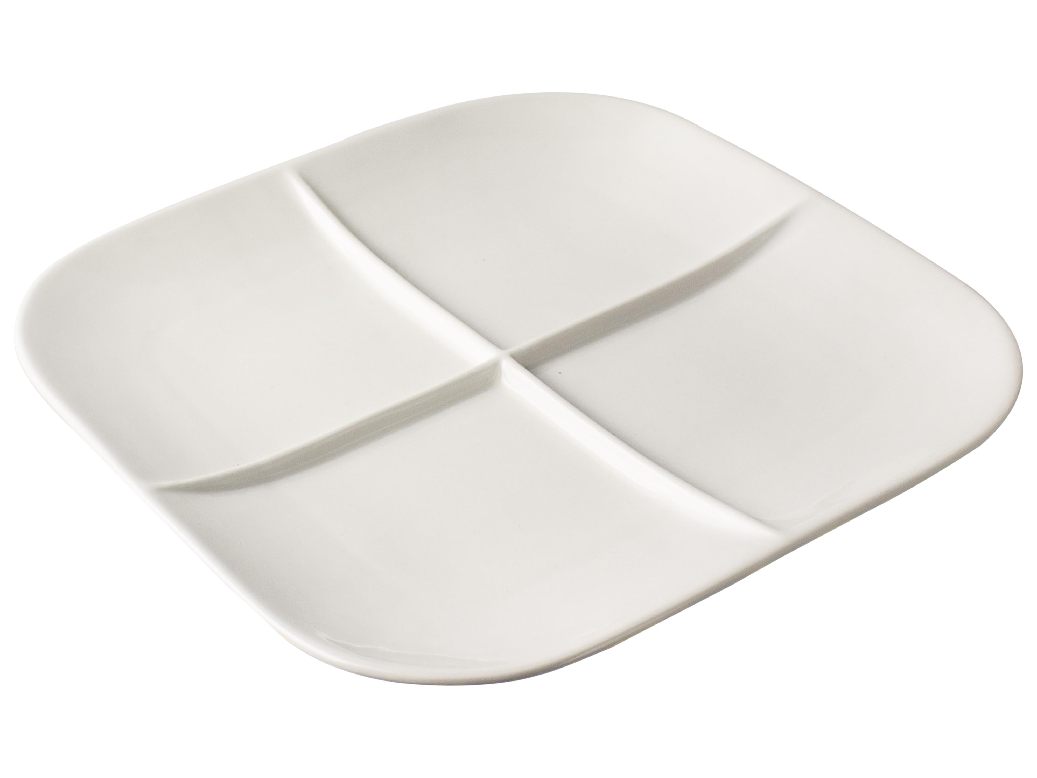 4 Compartment Plate Sparkle Gift