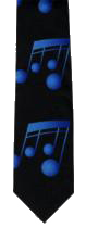 Tie Blue Notes Sparkle Gift