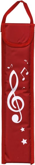 Recorder Bag Red Sparkle Gift