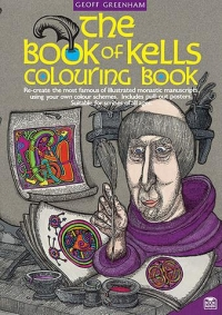 Book of Kells Colouring Book Greenham Sparkle Gift