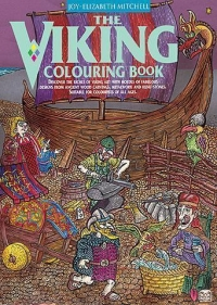 Viking Colouring Book Mitchell Sparkle Gift