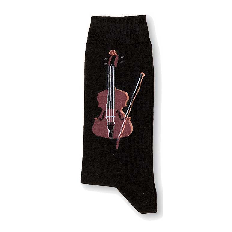 Socks Violin (medium) Sparkle Gift