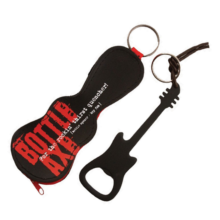 Bottle Axe Bottle Opener/key Fob (black) Sparkle Gift