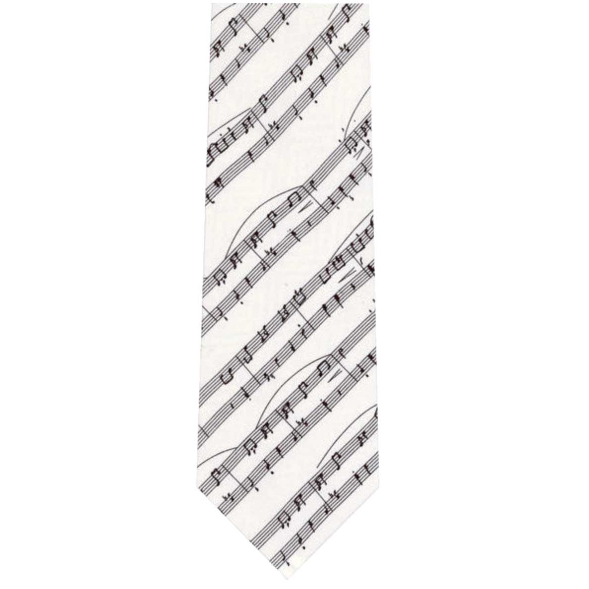 Tie Manuscript On White Silk Sparkle Gift