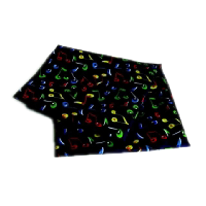Handkerchief Coloured Notes Polyester Sparkle Gift