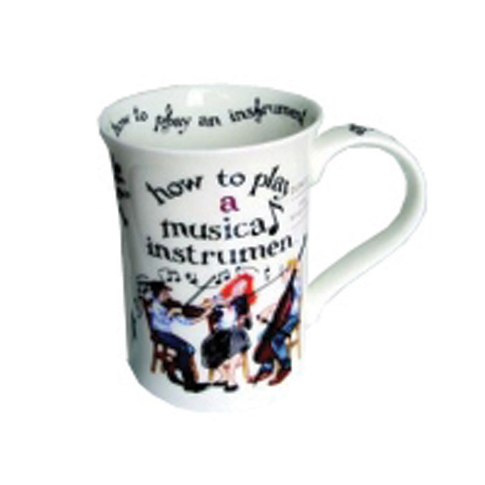 Dunoon Mug Cotswold How To Play Musical Instrument Sparkle Gift