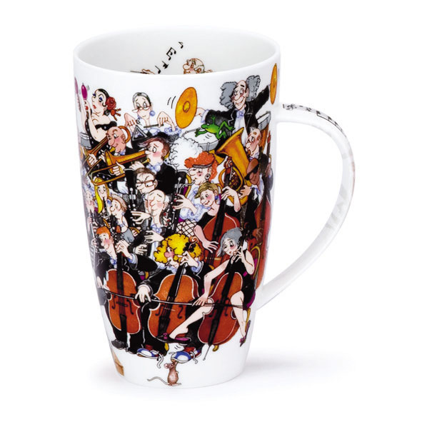 Dunoon Mug Henley Tuning Up Sparkle Gift