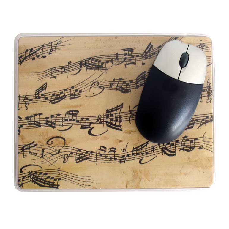 Mouse Mat Crazy Notes Sparkle Gift
