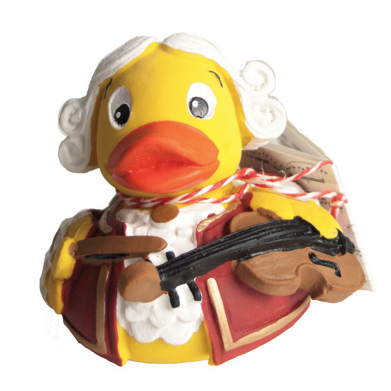 Mozart Rubber Duck Sparkle Gift
