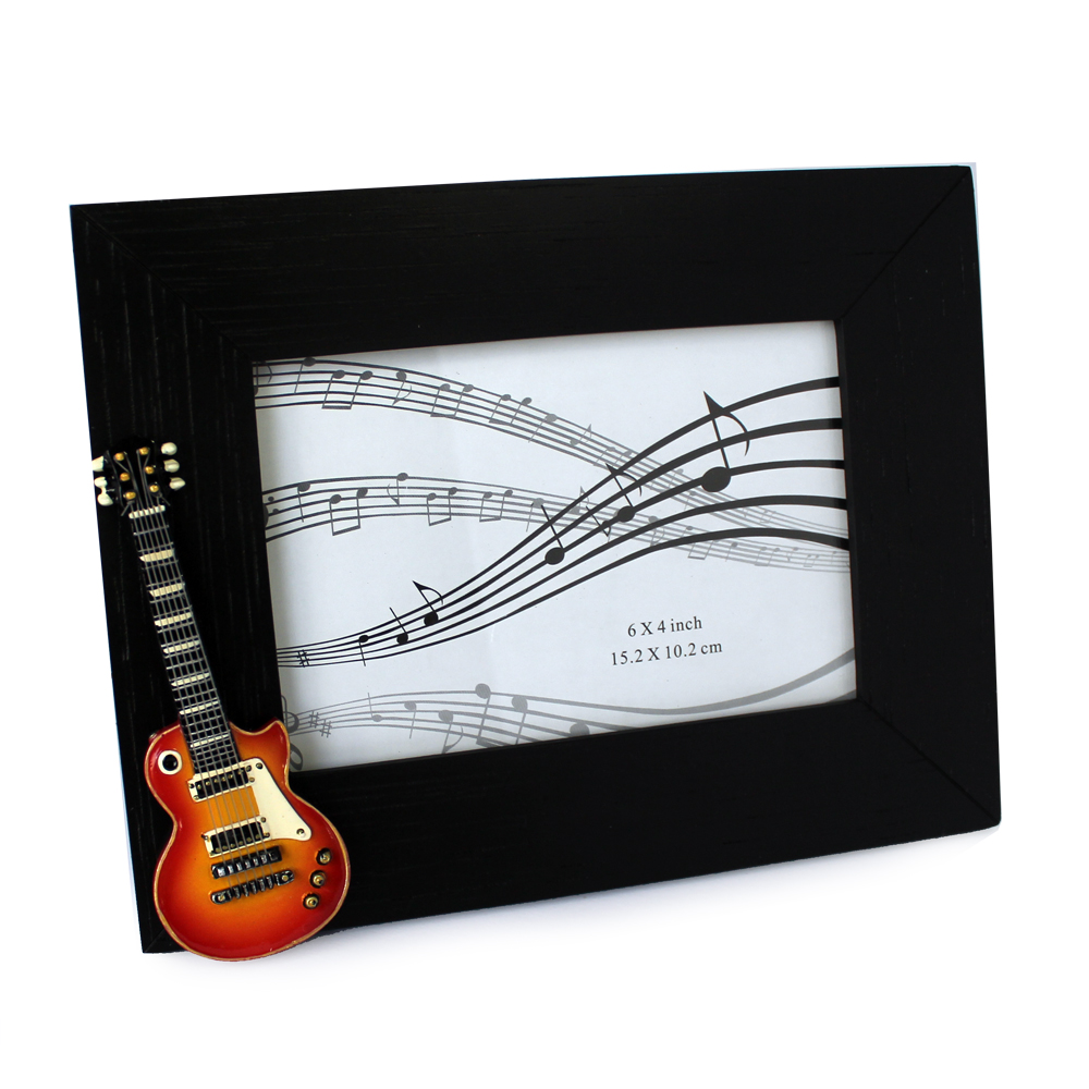 Photo Frame Vintage Guitar Sparkle Gift