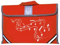 Music Bag Tgi Carrier Red Sparkle Gift