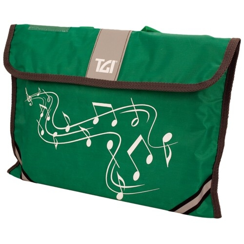 Music Bag Tgi Carrier Green Sparkle Gift