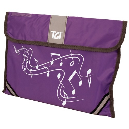 Music Bag Tgi Carrier Purple Sparkle Gift