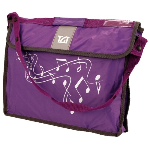 Music Bag Tgi Carrier Plus Purple Sparkle Gift