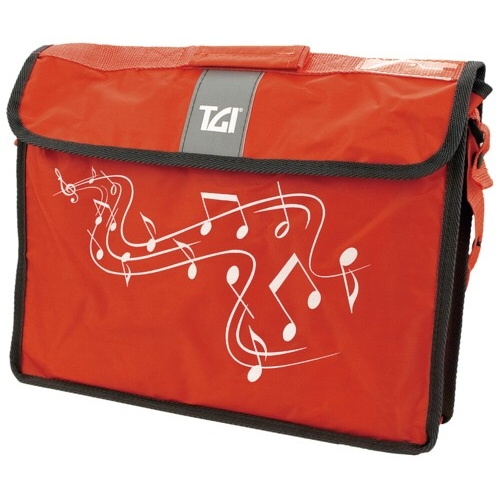 Music Bag Tgi Carrier Plus Red Sparkle Gift