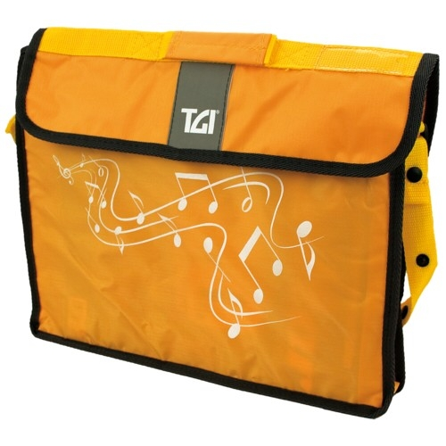Music Bag Tgi Carrier Plus Yellow Sparkle Gift