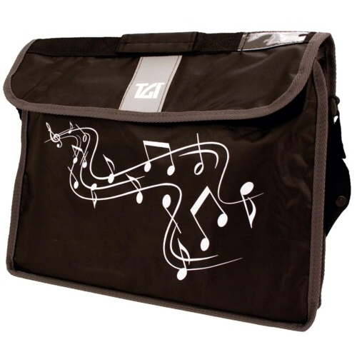 Music Bag Tgi Carrier Plus Black Sparkle Gift
