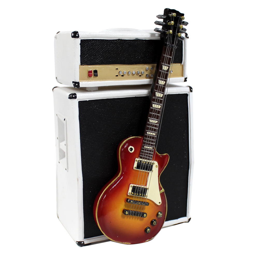 Money Box Amp & Vintage Guitar Sparkle Gift