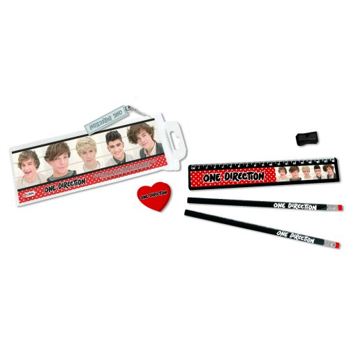One Direction Stationery Set Phase 3 Sparkle Gift