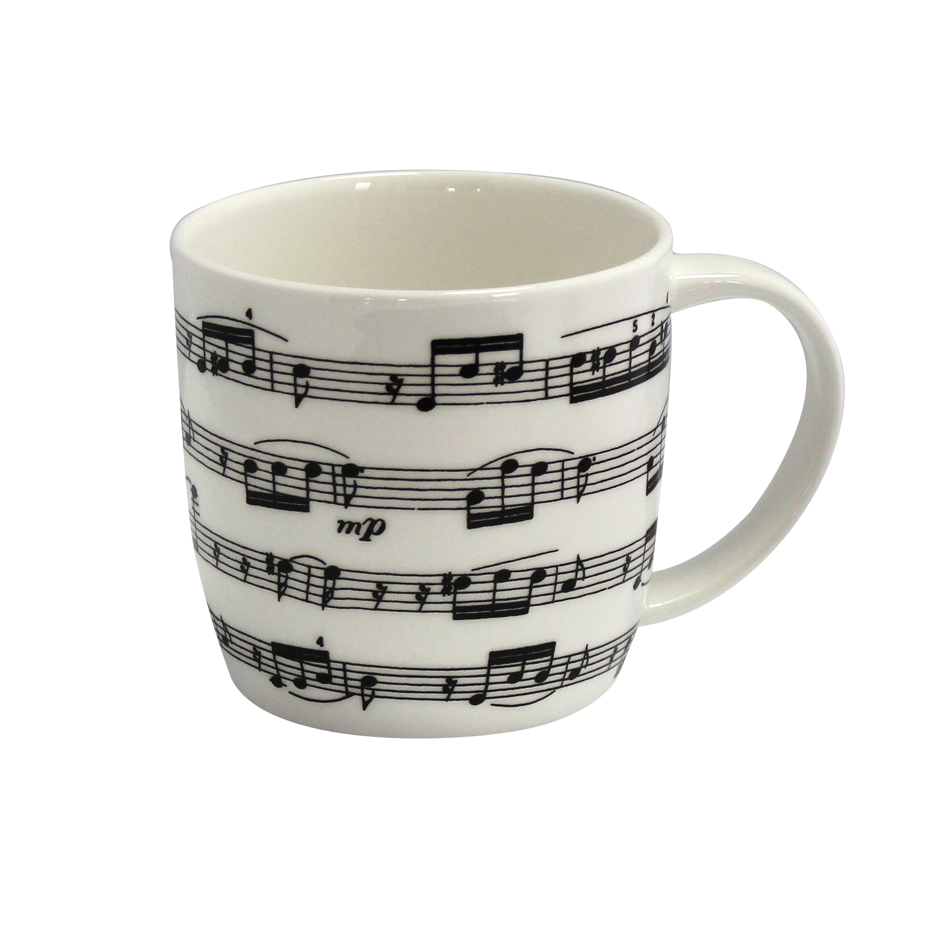 Bone China Boxed Mug Arpeggio White Sparkle Gift
