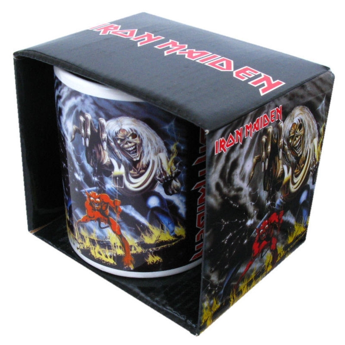 Iron Maiden Boxed Mug Number of The Beast Sparkle Gift