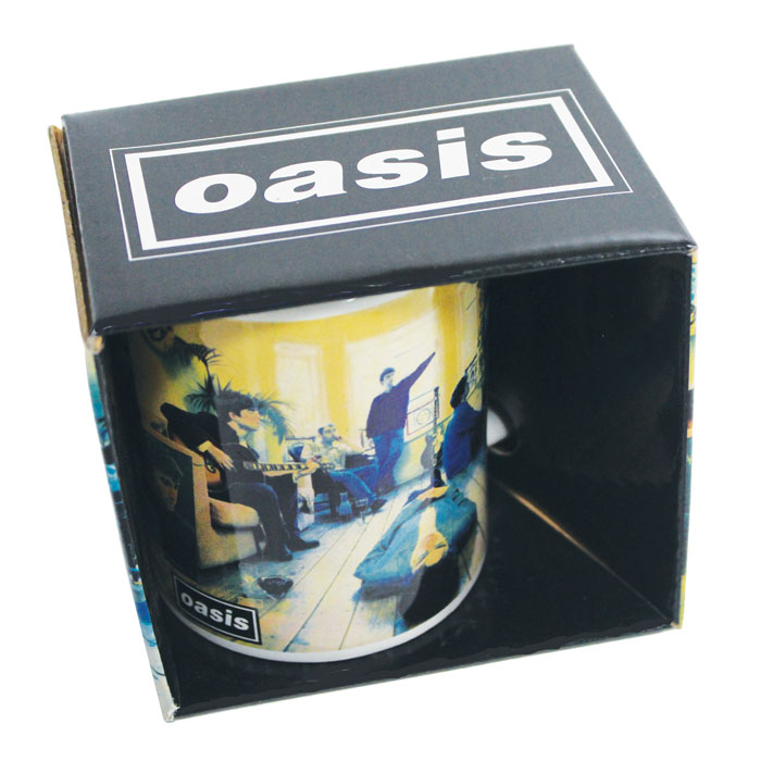 Oasis Boxed Mug Definitely Maybe Sparkle Gift