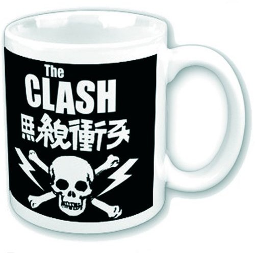 Clash Boxed Mug Skull & Crossbones Sparkle Gift