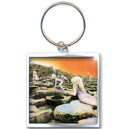 Led Zeppelin Keychain Houses of The Holy Keyring Sparkle Gift