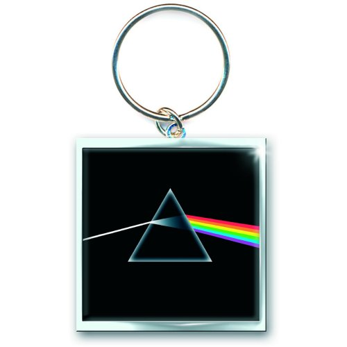 Pink Floyd Keychain Dark Side of The Moon Sparkle Gift