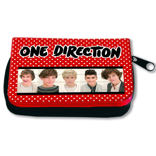 One Direction Vinyl Wallet Purse Sparkle Gift