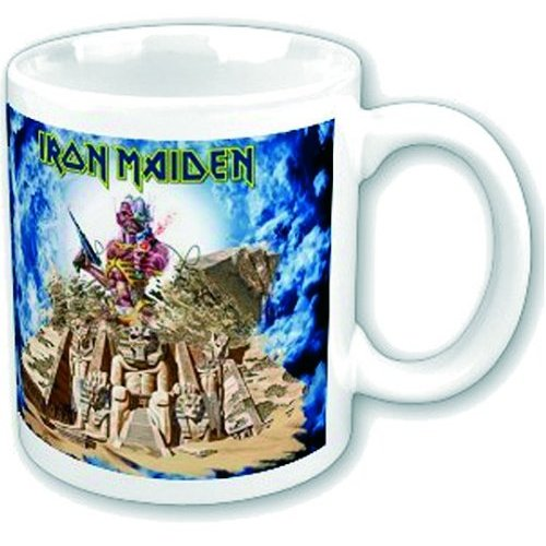 Iron Maiden Boxed Mug Somewhere Back In Time Sparkle Gift
