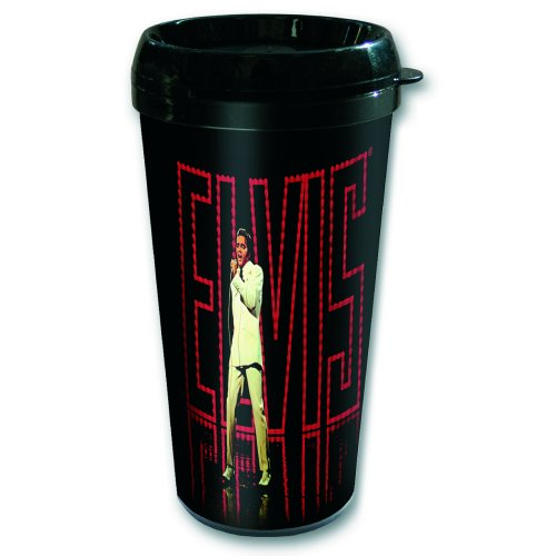 Elvis Presley Travel Mug In Lights Sparkle Gift
