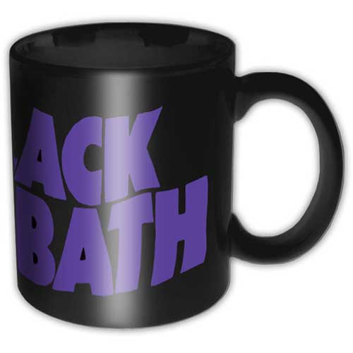 Black Sabbath Boxed Mug Wavy Logo Sparkle Gift
