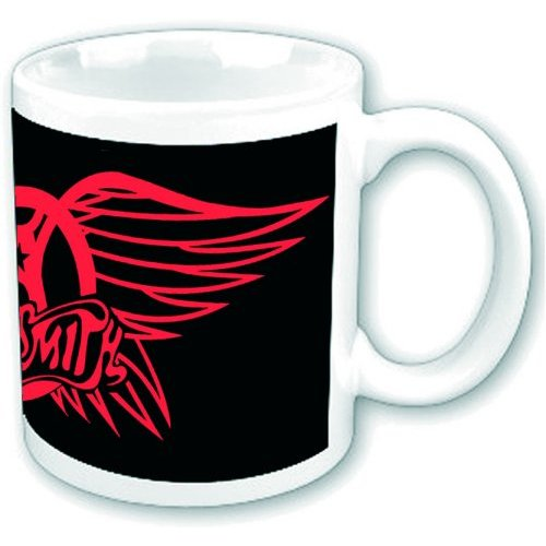 Aerosmith Boxed Mug Red Wings Sparkle Gift
