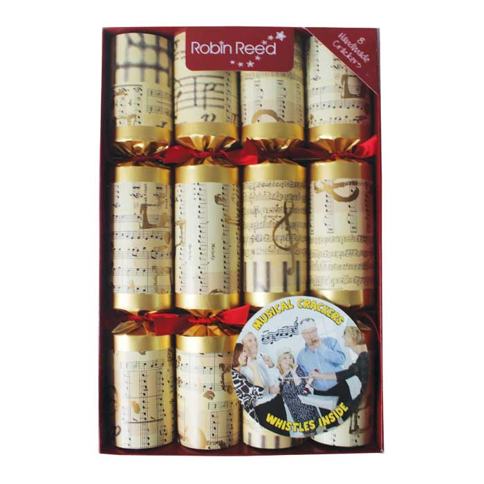 Christmas Crackers (8) Concerto Gift 30cm Sparkle Gift