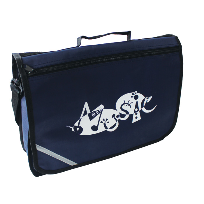 Music Bag Excel Navy Sparkle Gift