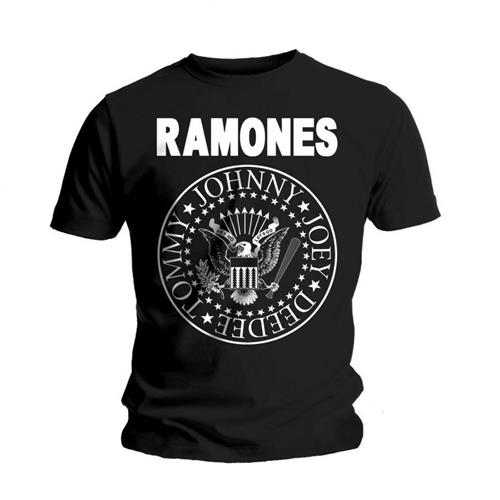 Ramones T Shirt Seal Mens Large Sparkle Gift