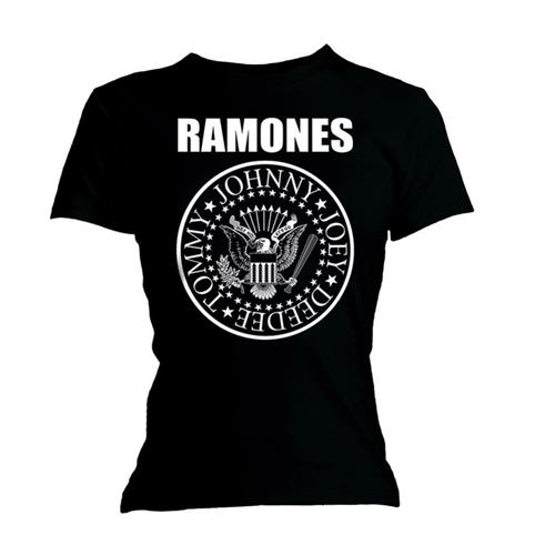 Ramones T Shirt Seal Womens Large Sparkle Gift