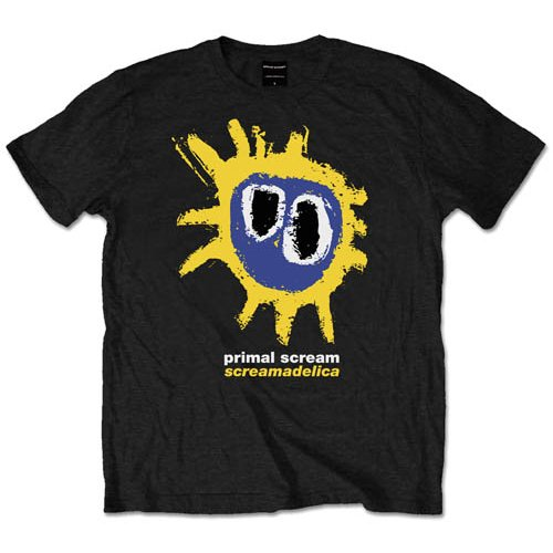 Primal Scream Screamadelica Mens Small Sparkle Gift