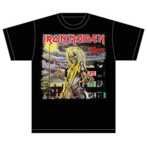 Iron Maiden T Shirt Killers Mens Large Sparkle Gift
