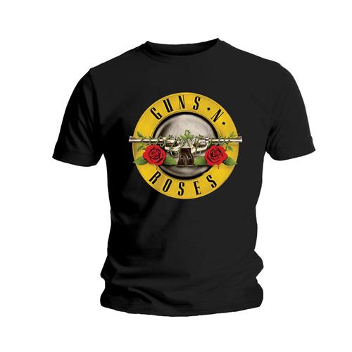 Guns N Roses T Shirt Logo Mens Large Sparkle Gift