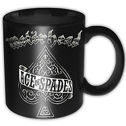 Motorhead Boxed Mug Ace of Spades Sparkle Gift