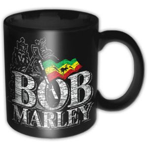 Bob Marley Boxed Mug Distressed Logo                         Sparkle Gift