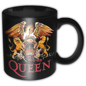 Queen Boxed Mug Classic Crest Sparkle Gift