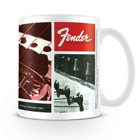 Fender Boxed Mug Fine Electric Instruments Sparkle Gift