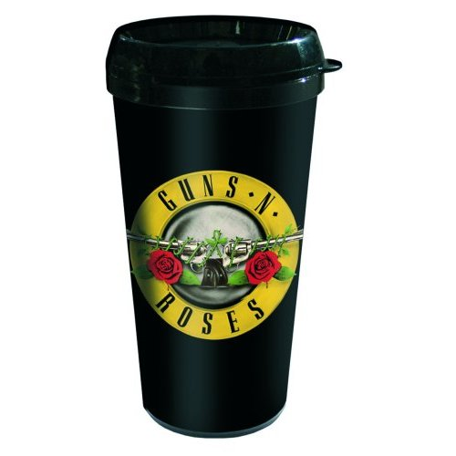 Guns N Roses Travel Mug Logo Sparkle Gift