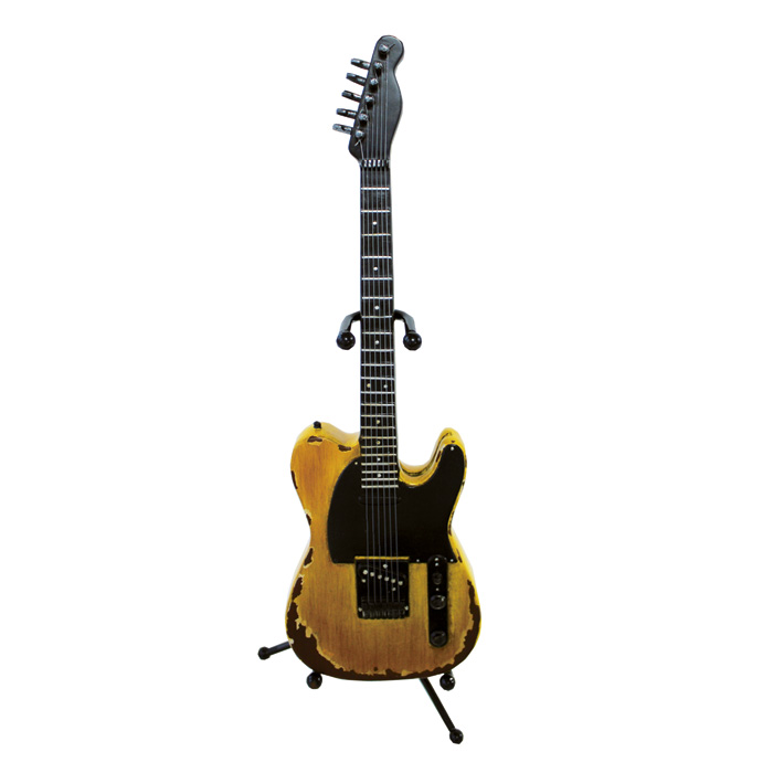 Money Box Guitar American Vintage With Stand Sparkle Gift
