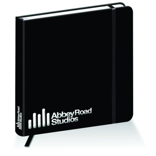 Abbey Road Studios Square Notebook Logo Sparkle Gift