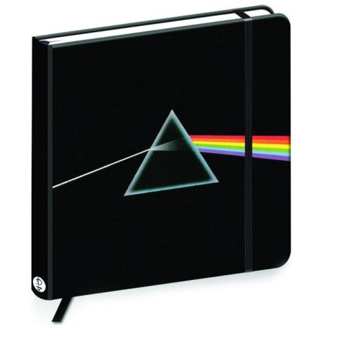 Pink Floyd Square Notebook Dark Side of The Moon Sparkle Gift